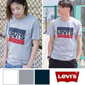 【SALE!!】【Levi's リーバイス】Levi's SPORT LOGO TEE ボックスロゴ Tシャツ 39636-00-030/39636-0002|jeansstation