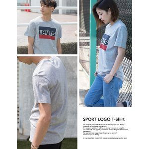 【SALE!!】【Levi's リーバイス】Levi's SPORT LOGO TEE ボックスロゴ Tシャツ 39636-00-030/39636-0002|jeansstation|06