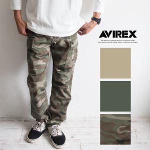 【AVIREX アビレックス】 FATIGUE PANTS ...