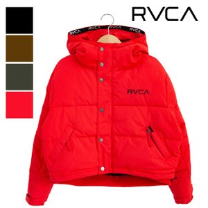 【 RVCA ルーカ 】 レディース PUFFA JACKET ショート丈 中綿 ジャケット AJ044755|jeansstation