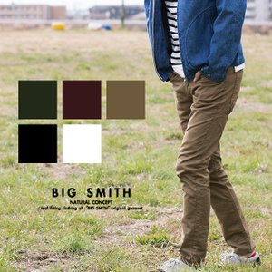 【BIG SMITH ビッグスミス】ストレッチ5Pタイトストレートパンツ BSM139|jeansstation