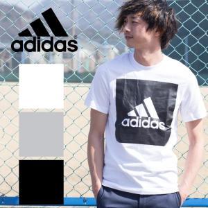 【adidas アディダス】M ESSENTIALS ビッグスクウェアロゴ 半袖Tシャツ BVC60/B47358/S98724/S98725|jeansstation