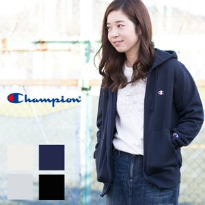 【Champion チャンピオン】ユニセックス ワンポイント ロゴ フルジップ パーカー C3-C119/ベーシック/裏毛/ジップアップ/メンズ/レディース/ワンポイント jeansstation