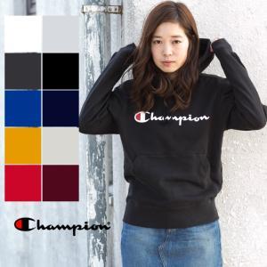 【 Champion チャンピオン 】BASIC ロゴ プリント スウェット パーカ C3-J117|jeansstation