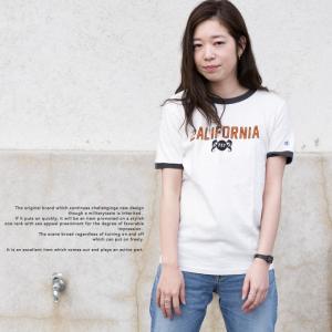 【Champion チャンピオン】アメカジ プリント リンガー Tシャツ C3-K313 jeansstation 03