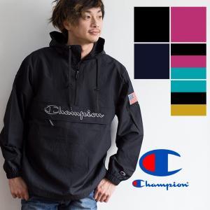 【 Champion チャンピオン 】ロゴアノラックパーカ C3-L609|jeansstation