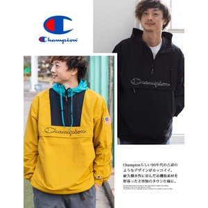 【 Champion チャンピオン 】ロゴアノラックパーカ C3-L609 jeansstation 05