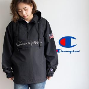 【 Champion チャンピオン 】ロゴアノラックパーカ C3-L609 jeansstation 06