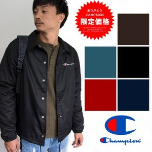 【SALE!20%オフ!】【Champion チャンピオン】ボアフリースコーチジャケット C3-L610|jeansstation