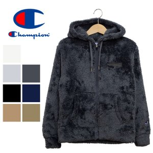【 Champion チャンピオン 】ボアフリースフルジップパーカ C3-L615|jeansstation
