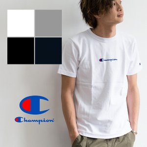 【Champion チャンピオン】REVERSE WEAVE ロゴ刺繍クルーネックS/S Tシャツ C3-M304|jeansstation