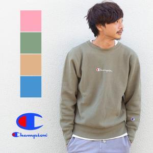 【 Champion チャンピオン 】リバースウィーブ クルーネックスウェット C3-N006|jeansstation