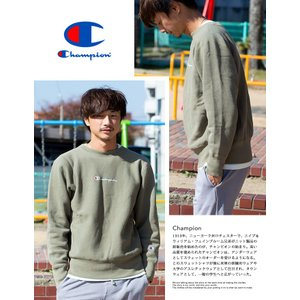 【 Champion チャンピオン 】リバースウィーブ クルーネックスウェット C3-N006|jeansstation|05