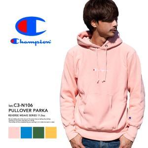 【Champion チャンピオン】リバースウィーブ プルオーバーパーカー C3-N106|jeansstation