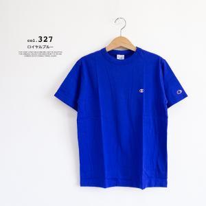 【Champion チャンピオン】ワンポイントロゴ 刺繍 ベーシック 半袖Tシャツ C3-P300|jeansstation|11