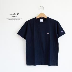 【Champion チャンピオン】ワンポイントロゴ 刺繍 ベーシック 半袖Tシャツ C3-P300|jeansstation|12
