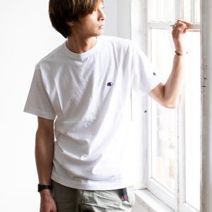 【Champion チャンピオン】ワンポイントロゴ 刺繍 ベーシック 半袖Tシャツ C3-P300|jeansstation|04