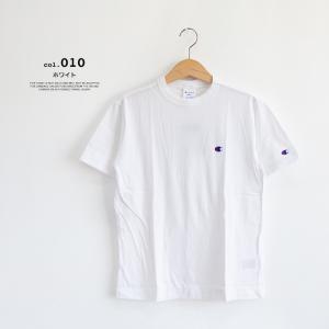【Champion チャンピオン】ワンポイントロゴ 刺繍 ベーシック 半袖Tシャツ C3-P300|jeansstation|07