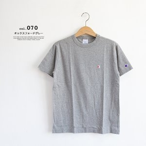 【Champion チャンピオン】ワンポイントロゴ 刺繍 ベーシック 半袖Tシャツ C3-P300|jeansstation|08