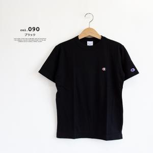 【Champion チャンピオン】ワンポイントロゴ 刺繍 ベーシック 半袖Tシャツ C3-P300|jeansstation|09