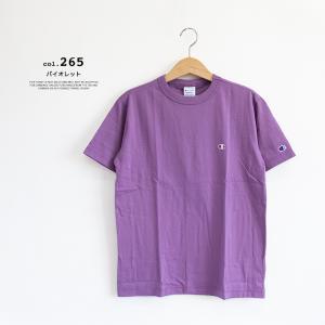 【Champion チャンピオン】ワンポイントロゴ 刺繍 ベーシック 半袖Tシャツ C3-P300|jeansstation|10