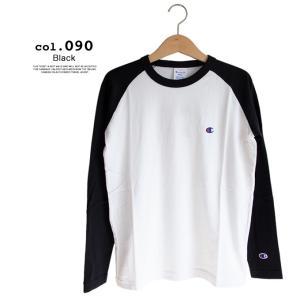 【Champion チャンピオン】ラグランロングスリーブTシャツ C3-P402|jeansstation|11