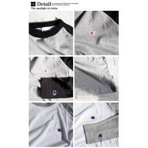 【Champion チャンピオン】ラグランロングスリーブTシャツ C3-P402|jeansstation|12
