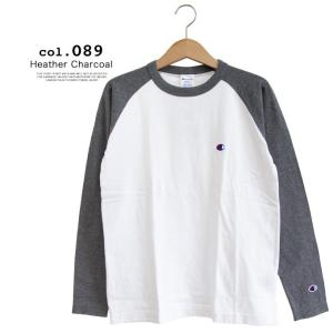 【Champion チャンピオン】ラグランロングスリーブTシャツ C3-P402|jeansstation|06