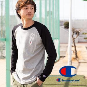 【Champion チャンピオン】ラグランロングスリーブTシャツ C3-P402|jeansstation|08