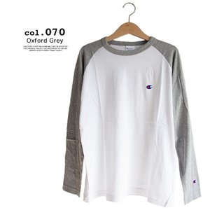 【Champion チャンピオン】ラグランロングスリーブTシャツ C3-P402|jeansstation|09