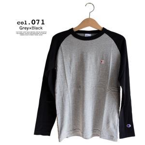 【Champion チャンピオン】ラグランロングスリーブTシャツ C3-P402|jeansstation|10