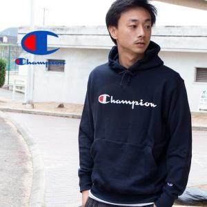 【SALE!!】【 Champion チャンピオン 】 筆記体ロゴ ベーシック プルオーパーパーカー C3-Q102|jeansstation|06
