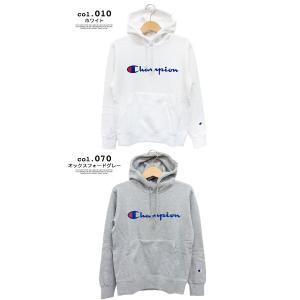 【SALE!!】【 Champion チャンピオン 】 筆記体ロゴ ベーシック プルオーパーパーカー C3-Q102|jeansstation|07