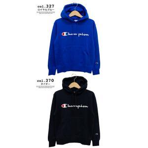 【SALE!!】【 Champion チャンピオン 】 筆記体ロゴ ベーシック プルオーパーパーカー C3-Q102|jeansstation|09