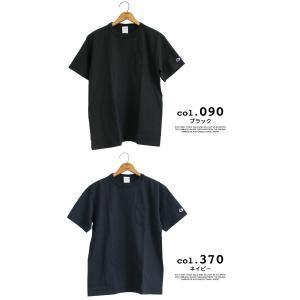 【CHAMPION チャンピオン】T1011 ポケット付 ヘビーウエイト クルーネック Tシャツ C5-B303 C5-M304 C5-P305|jeansstation|10