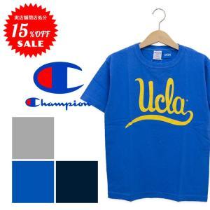 【Champion チャンピオン】T1011 UCLA カレッジプリントS/S Tシャツ C5-K303|jeansstation