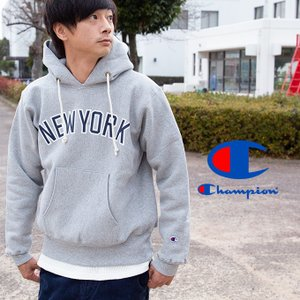 【 Champion チャンピオン 】 リバースウィーブ カレッジ プリント スウェット プル パーカ C5-Q102|jeansstation|05