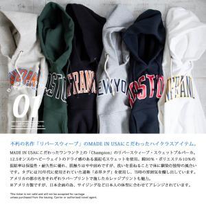 【 Champion チャンピオン 】 リバースウィーブ カレッジ プリント スウェット プル パーカ C5-Q102|jeansstation|06