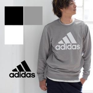 【メーカー希望小売価格より20%OFF♪】【adidas アディダス】M ESSENTIALS ライトクルーネックスウェット DJP50|jeansstation