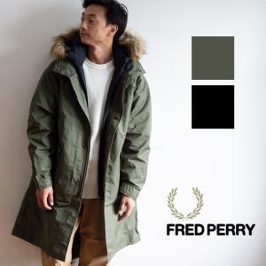 【 FRED PERRY フレッドペリー 】 MEN FISHTAIL PARKA M51 ダウン ライナー 付き 3WAY モッズコート F2607|jeansstation