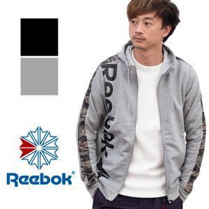 【SALE!!】【Reebok リーボック】ワンシリーズ テープロゴスウェット フルジップパーカー FLU96 jeansstation
