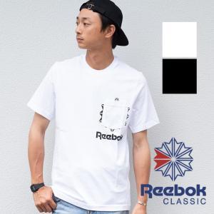 【SALE!!】【 Reebok リーボック 】 Reebok CLASSIC CL F ポケット 半袖 Tシャツ FRZ55 jeansstation