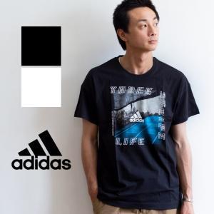【SALE!!】【 adidas アディダス 】 M ID フォトグラフィック 半袖 Tシャツ FSR42|jeansstation