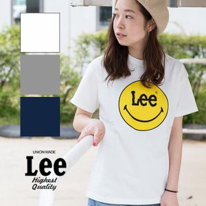 【Lee リー】 Lee × SMILEY PRINT TEE プリント Tシャツ LS7382-049|jeansstation|01