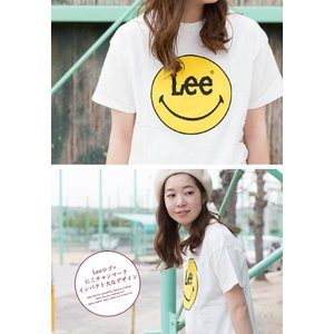 【Lee リー】 Lee × SMILEY PRINT TEE プリント Tシャツ LS7382-049|jeansstation|04