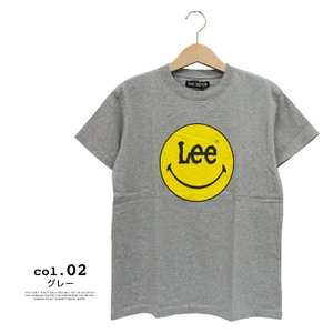【Lee リー】 Lee × SMILEY PRINT TEE プリント Tシャツ LS7382-049|jeansstation|06