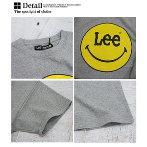 【Lee リー】 Lee × SMILEY PRINT TEE プリント Tシャツ LS7382-049|jeansstation|09