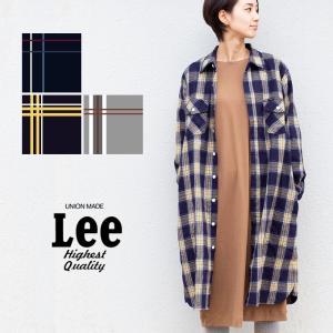 【SALE!!】【Lee リー】フランネル チェック L/S シャツ ワンピース LT1008|jeansstation