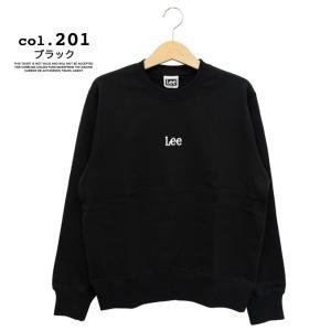 【 Lee リー 】ミニロゴ刺繍 クルーネックスウェット LT2402|jeansstation|13