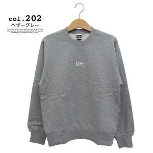 【 Lee リー 】ミニロゴ刺繍 クルーネックスウェット LT2402|jeansstation|14